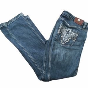 Antik Denim Medium Wash Blue Jeans